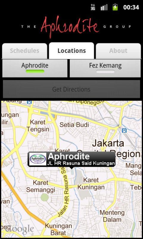 Aphrodite Sports Schedules- screenshot