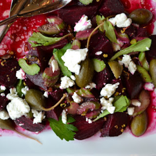 Winter Roasted Beet Salad