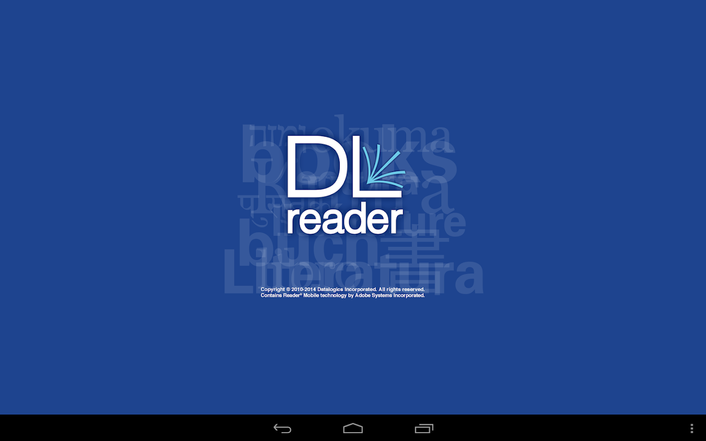 DL Reader- screenshot