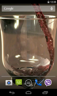 Glass of Wine Video LWP - screenshot thumbnail