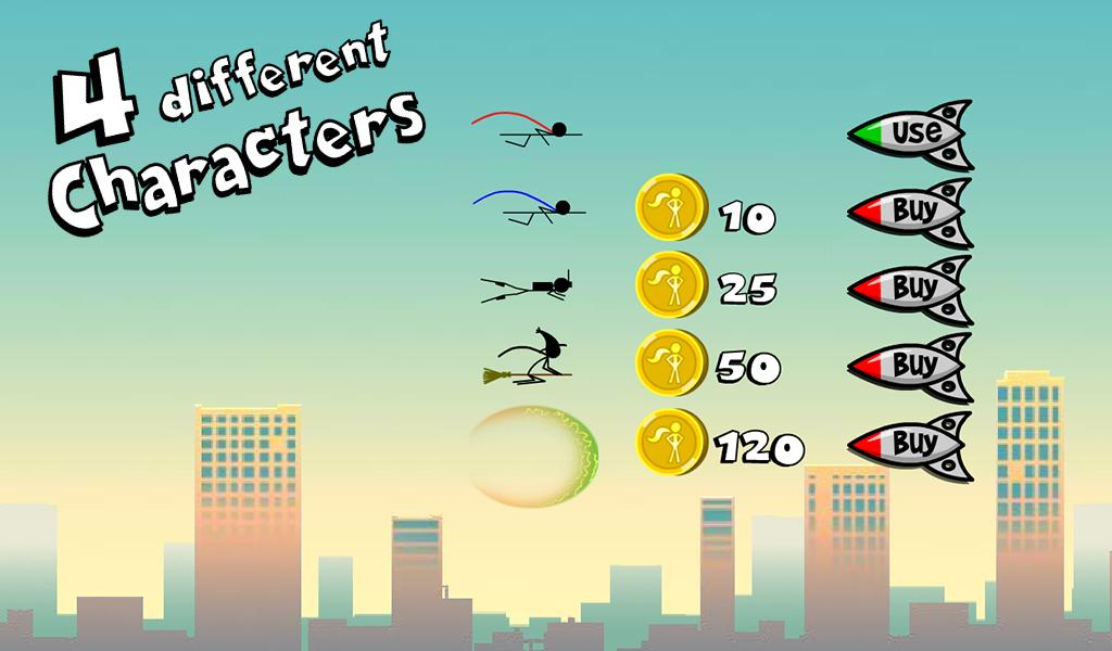 Superhero Stickman- screenshot