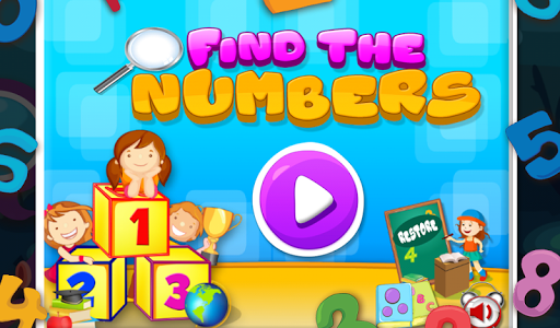 Find The Numbers For Kids