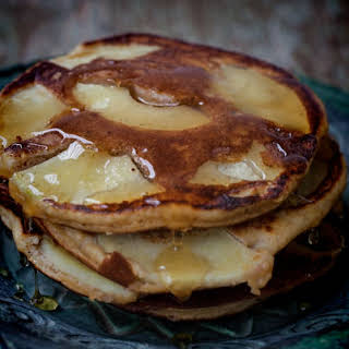 Gluten Free Apple Pancakes.