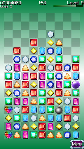 Diamond Stacks - Match 3 Game