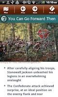 Screenshot of Chancellorsville Battle App