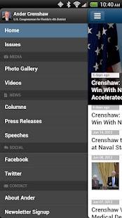 Congressman Ander Crenshaw- screenshot thumbnail
