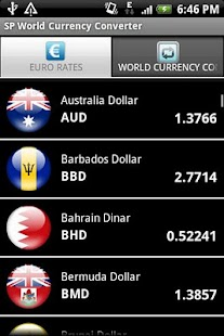 SP World Currencies - screenshot thumbnail