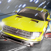 pickup car speed racing