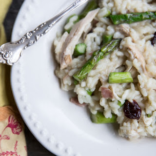 Asparagus and Sun-Dried Cherry Risotto