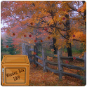 the autumn fall leaves LWP icon
