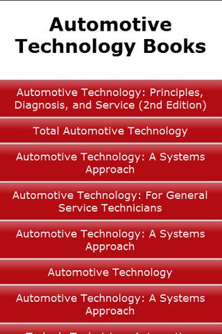 Automotive Technology Books