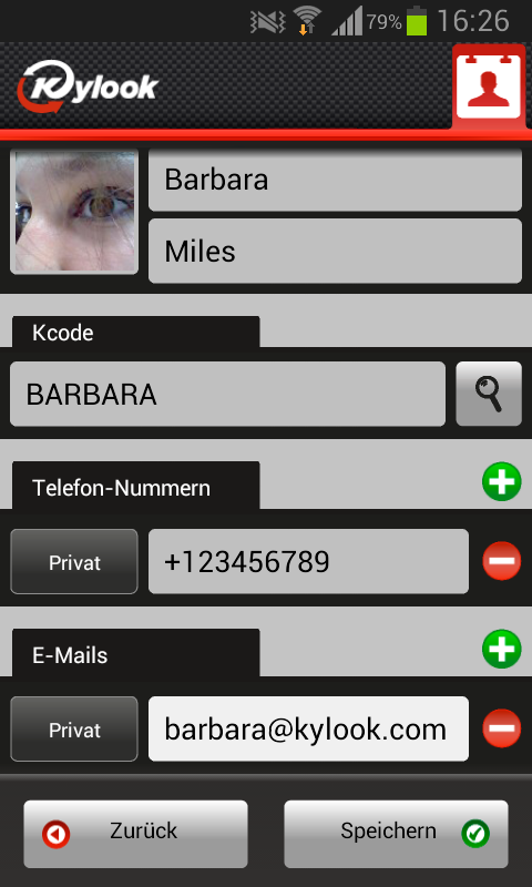 Address Book & Contacts Sync - screenshot