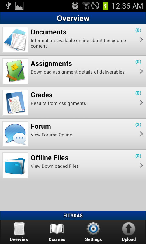 World University -Moodle acces - screenshot