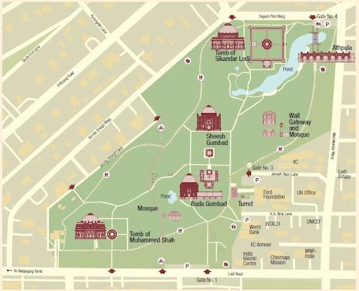 Lodi Garden Monuments Google Arts Amp Culture