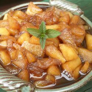 Apple and Raisin Sauce