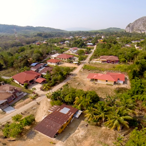 Smallville by Diver Lukman - Landscapes Mountains & Hills ( hometown, gua musang, kelantan, ville, aerial, smallville, cave )