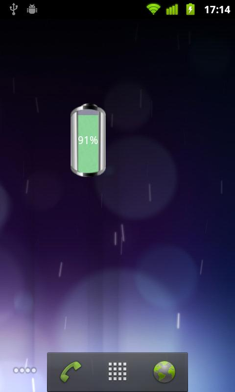 SLW Battery Widget - screenshot
