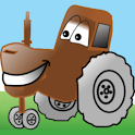 Kids Tractor Tipping icon