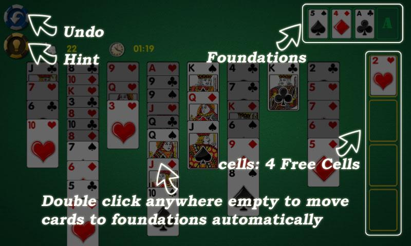 AE FreeCell- screenshot