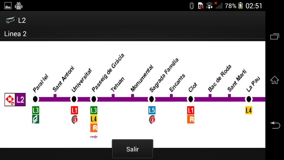 Ametro Barcelona - screenshot