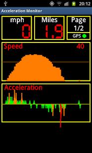 Acceleration Monitor- screenshot thumbnail