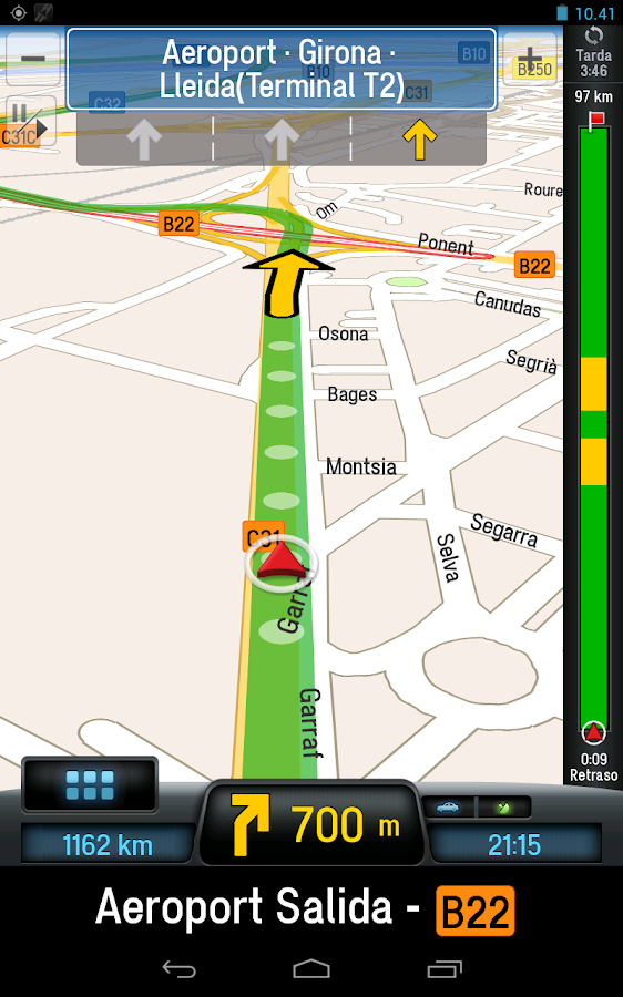 CoPilot Premium Europe App GPS - screenshot