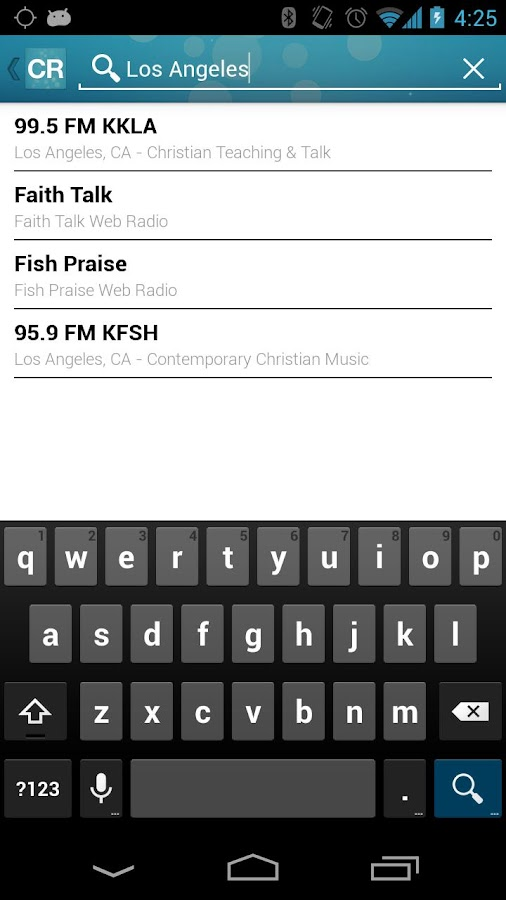 Christian Radio- screenshot