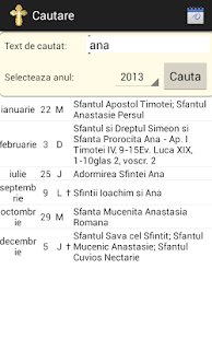 Orthodox Calendar 2013 - 2016- screenshot thumbnail