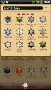 Scorpion GO Launcher Theme - screenshot thumbnail