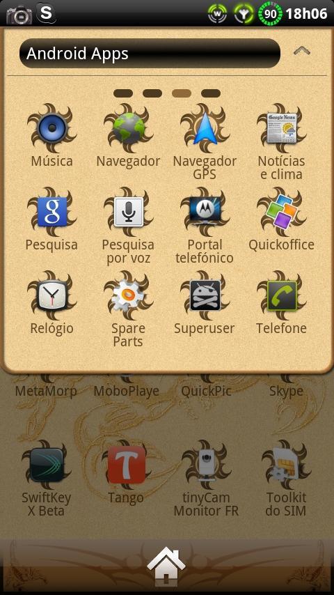 Scorpion GO Launcher Theme - screenshot