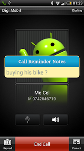 Call Reminder Notes - screenshot thumbnail