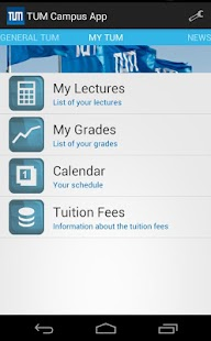 TUM Campus App - screenshot thumbnail