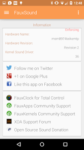 FauxSound Audio/Sound Control v1.3.8