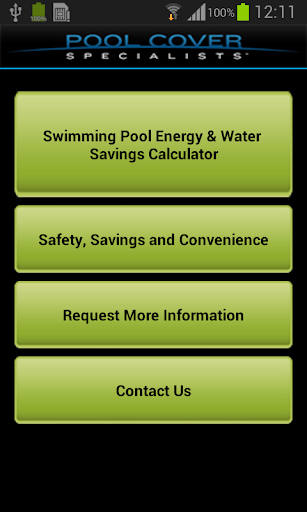 Swimming Pool Energy Calc