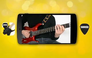 Screenshot of Guitar Solo SHRED VIDEOS LITE
