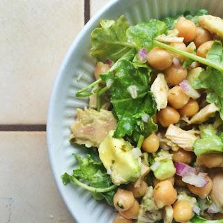 Avocado, Chickpea and Tuna Salad