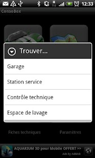 ConsoBox - manage your car - screenshot thumbnail