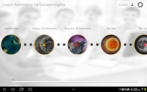 Learn Astronomy - screenshot thumbnail