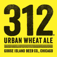 Logo of Goose Island 312 Urban Wheat Ale