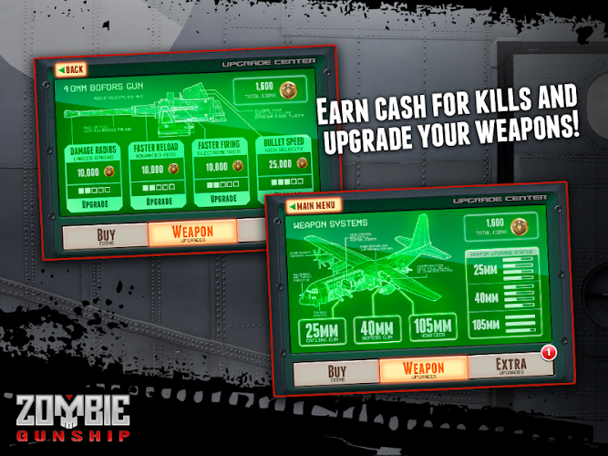 Zombie Gunship: Gun Dead 3D v1.14.4 Cracked APK - screenshot