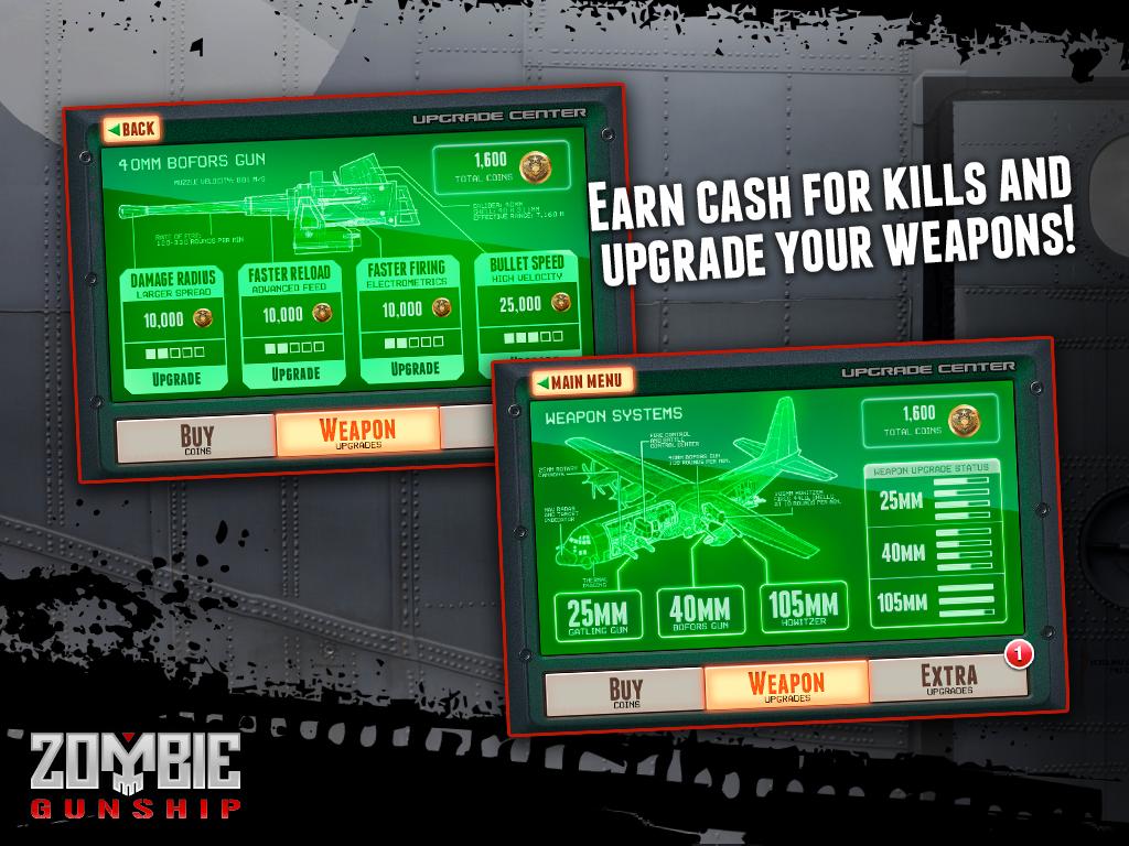 Zombie Gunship screenshot #8