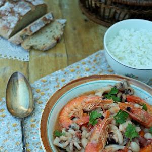 Cuttlefish Feijoada Stew