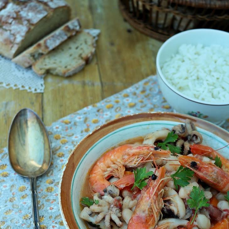 Cuttlefish Feijoada Stew Recipe