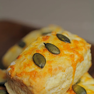 Cheddar and Pumpkin Seed Scones