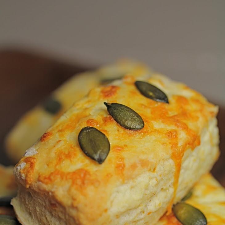 Cheddar and Pumpkin Seed Scones Recipe