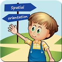 Spatial orientation icon
