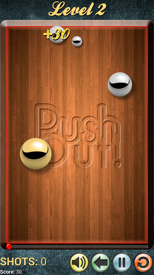 PushOut! inspired by Billiards- screenshot