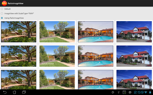 RatioImageView Demo- screenshot thumbnail