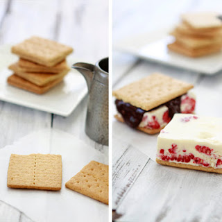 Raspberry Ice Cream Sandwiches