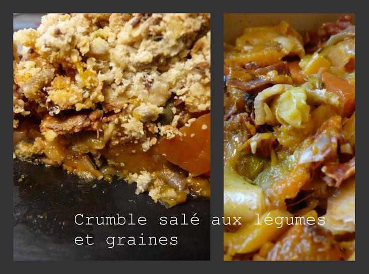 Savory Vegetable Crumble Recipe